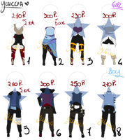 [Outfit] Adoptables #4 by Yuiccia