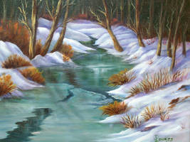 Icy creek by grimmsguild
