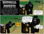 Editorial Monkeys 1 by TheOnlyWarman