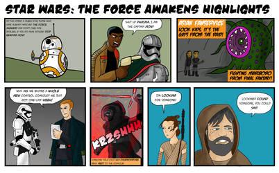 SPOILER ALERT: Force Awakens Highlights by TheOnlyWarman