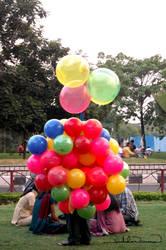 Balloons.. by iruhdam