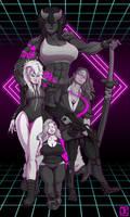 Shadowrun - Mom Squad by kaffeezombie