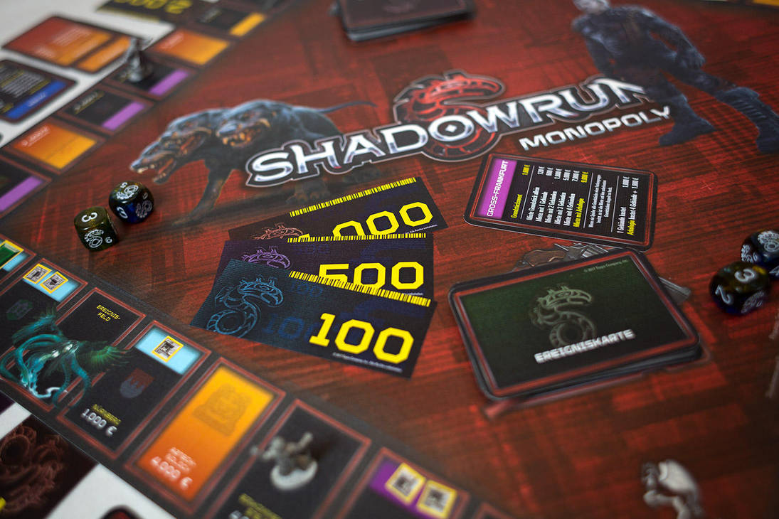 Shadowrun: Monopoly by fexes