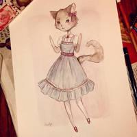 Kawaii Lolita CatGirl by Ninelyn