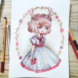 Fawn Sailor Girl by Ninelyn