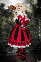 Harley Quinn - Haunted Arkahm Asylum - Cosplay by Thecrystalshoe