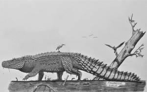 Purussaurus brasiliensis by AcroSauroTaurus
