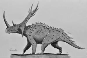 Ferrucutus cerastes by AcroSauroTaurus