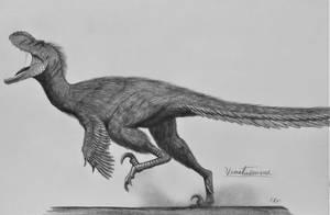 Venatosaurus saevidicus by AcroSauroTaurus