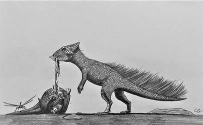 Aquilops americanus by AcroSauroTaurus