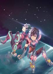 Andromeda + Pegasus by Goku-chan