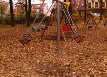 Autumn Swing by Karaluch