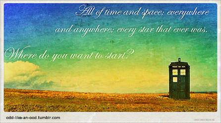 Where do you want to start? banner by Karaluch