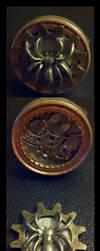 Steampunk Clock Work Ring by Ken-Davis