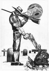 Death to a demon by Ken-Davis