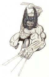 Savage Wolverine by Ken-Davis