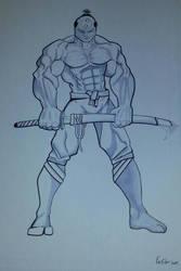the blade master by Ken-Davis