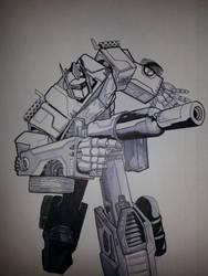 Optimus Prime by Ken-Davis