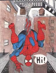 Spider-Man by Ken-Davis