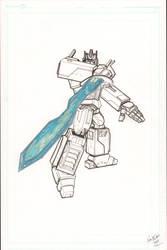 Optimus Prime wip by Ken-Davis