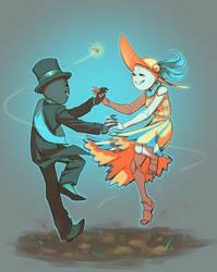 not so raggy lookin dance by BabaKinkin
