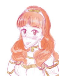 Celica Sketch by LilacPhoenix