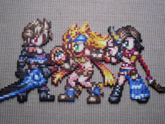 Girls from FFX-2 by Karma-Pudding