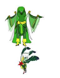 Rydia costume -idea 1- by Magicgrrl