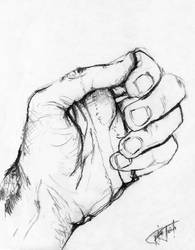 hand study 5 by BojanPapic