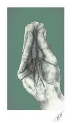 Hand study 6 by BojanPapic
