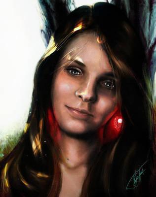 Maja portrait by BojanPapic