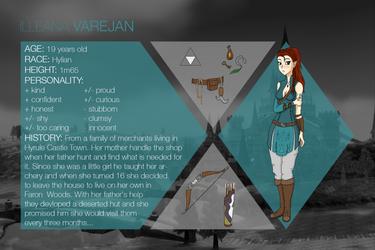 +Legend of Zelda+ Illeana Varejan by Mangasia