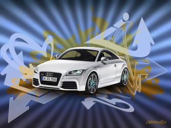 Audi TT RS Wallpaper by ahmed92