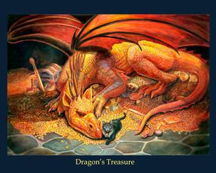 Dragon Treasure by Lynnp2010