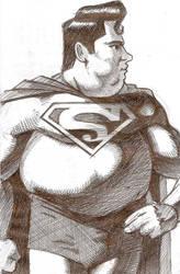 Superman by maddunkartist