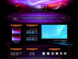 Web design Dissors Clue156 by clue156