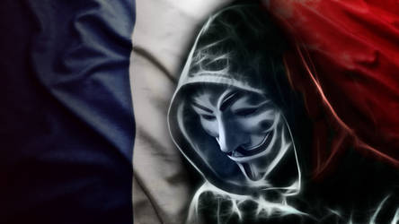 Anonymous for France and for all. by nogrox
