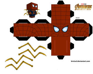 Iron-spider Ver.2 acessories by briciocl