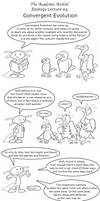 Academic Axolotl Lecture 05 - Convergent Evolution by joffeorama