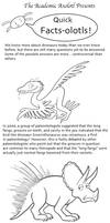 Academic Axolotl: Quick Facts-olotls 02 - Dinosaur by joffeorama
