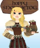 Happy Snoggletog by h-Robun