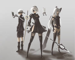 Nier:Automata by Demonconstruct