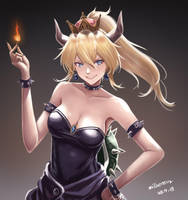 Bowsette by Demonconstruct