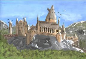 Hogwart Castle by Wktr