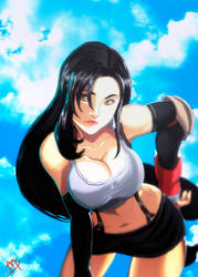 Tifa Lockhart by Madboy-Art