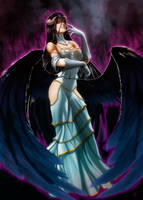 Albedo Overlord by Madboy-Art