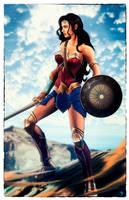 Wonder Woman Movie by Madboy-Art