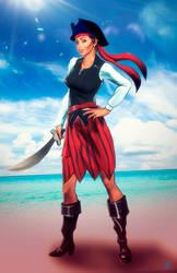 Pirate Mya by Madboy-Art