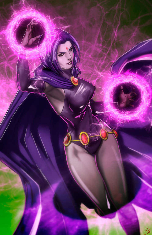 Raven - Teen Titans by Madboy-Art