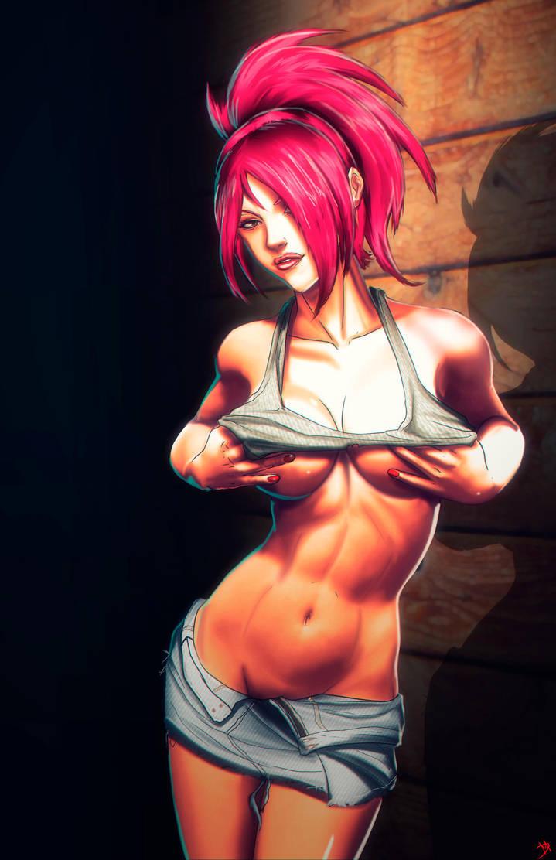 Sexy Kiyomi by Madboy-Art